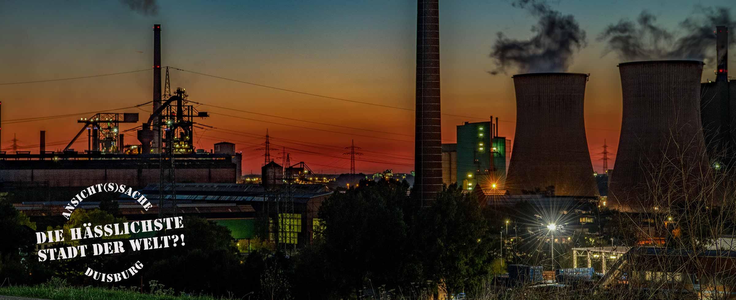 Die hässlichste Stadt der Welt?! Ansicht(s)Sache Duisburg